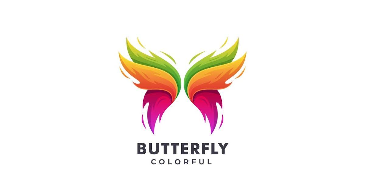 Download Butterfly Colorful Logo by ivan_artnivora