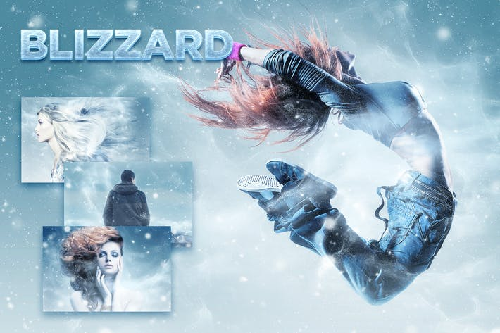Thumbnail for Blizzard Photoshop Action CS3+