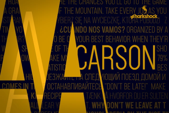 Cover Image For Carson