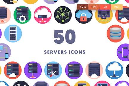 50 Server-Symbole