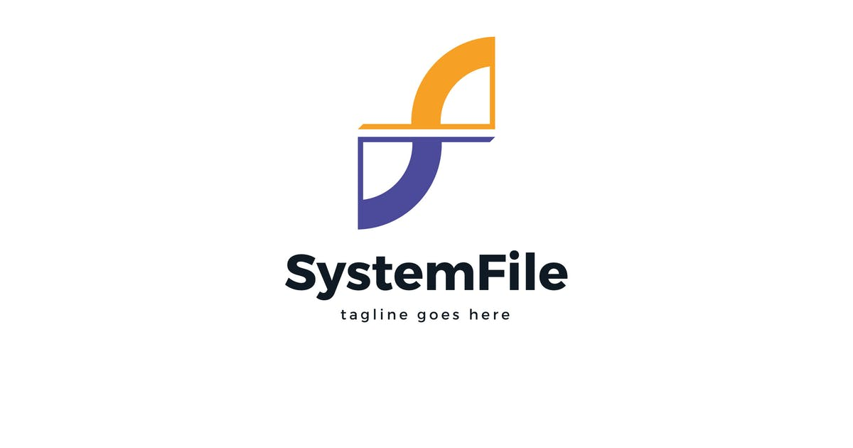 Download System File F Letter Logo Template by Pixasquare