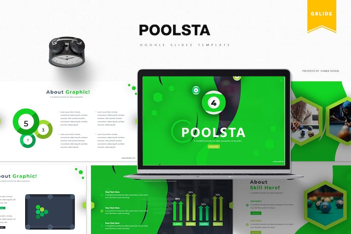 Poolsta | Google Slides Template