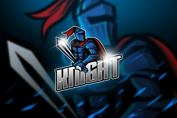 Thumbnail for KNIGHT - Mascot & Logo Esport