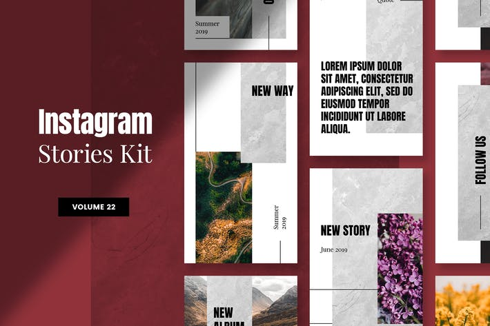 Cover Image For Instagram Stories Kit (Vol.22)