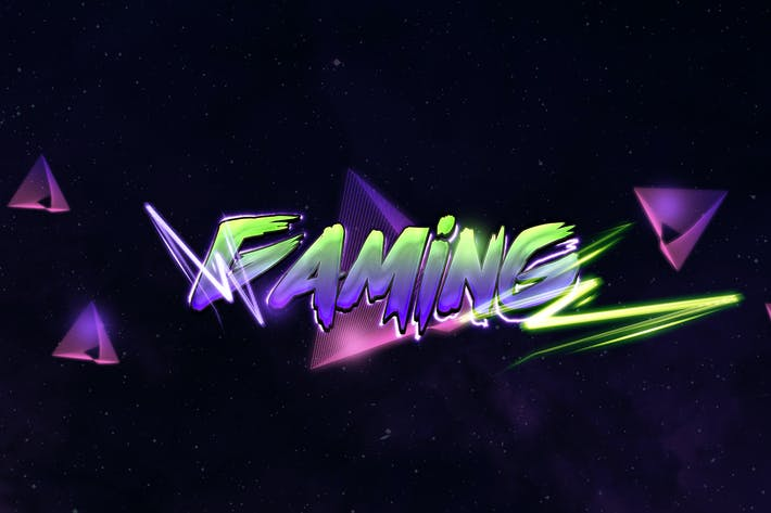 Thumbnail for Gaming Text Effect