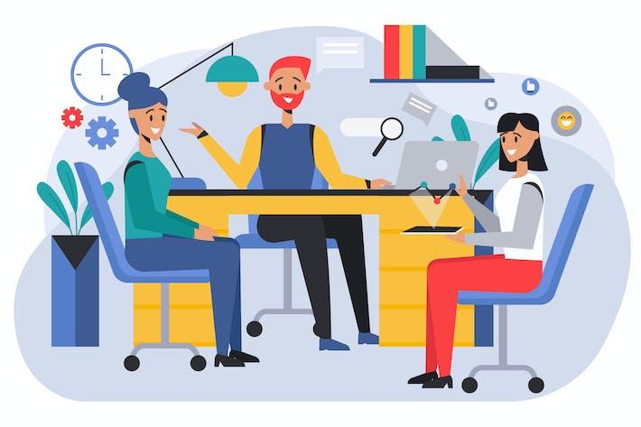 Thumbnail for Startup Business Illustration