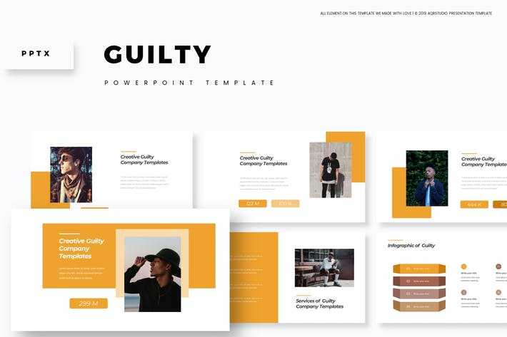 Cover Image For Guilty - Powerpoint Template