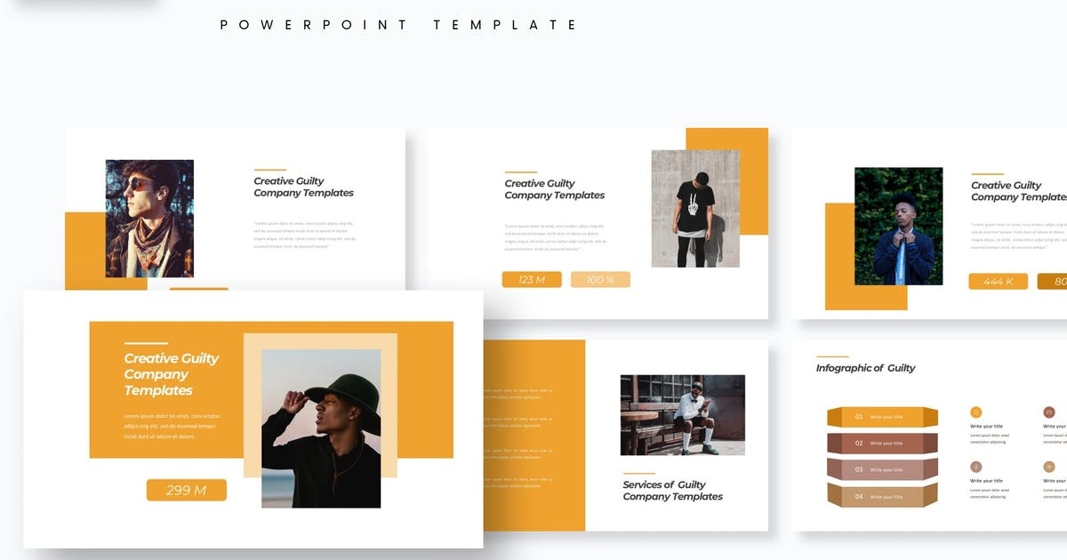Download Guilty - Powerpoint Template by aqrstudio