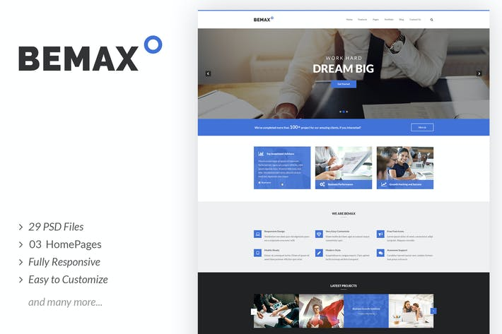 Thumbnail for Bemax - Multipurpose Corporate Business