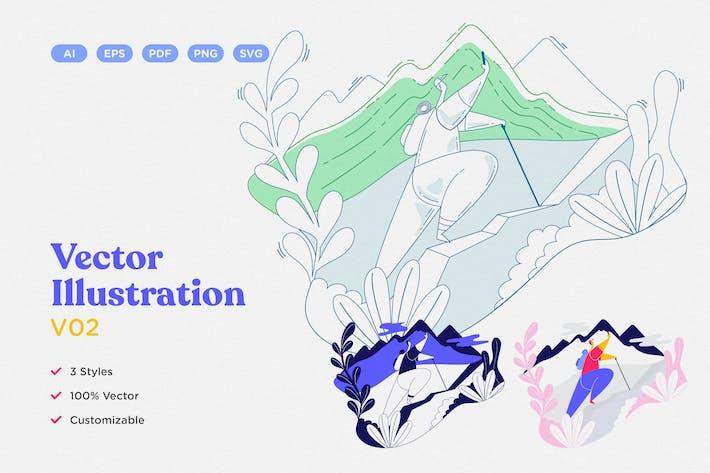 Thumbnail for Vector Illustration V02