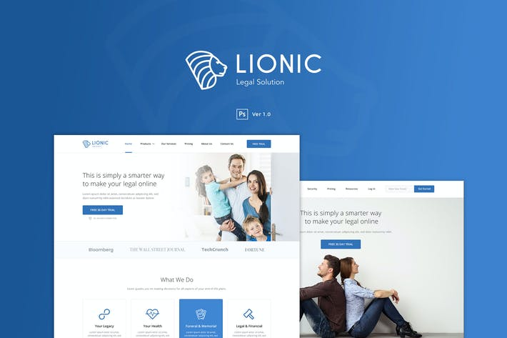 Lionic - Online Finance & Legal