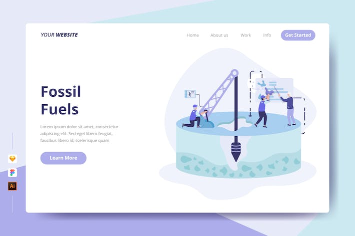 Thumbnail for Fossil Fuels - Landing Page