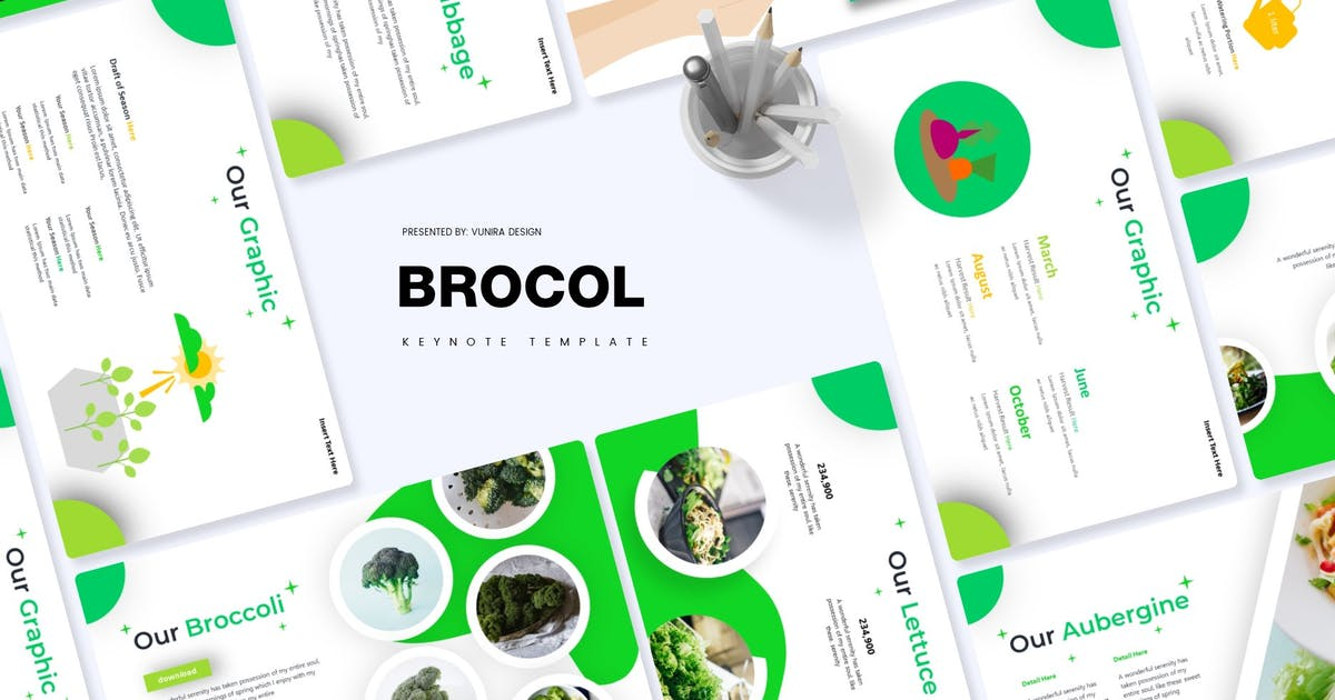 Download Brocol   Keynote Template by Vunira