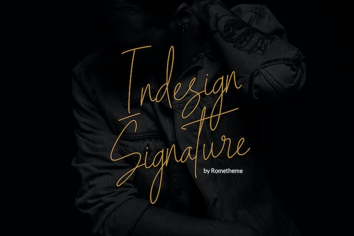 Thumbnail for Indesign Signature Script YR