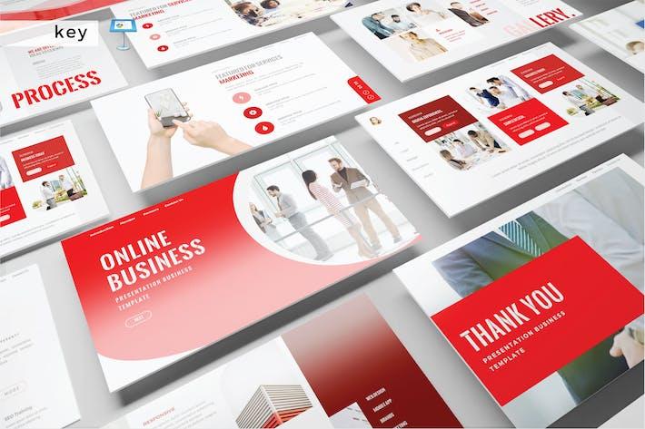 Cover Image For ONLINE BUSINESS - Keynote V478