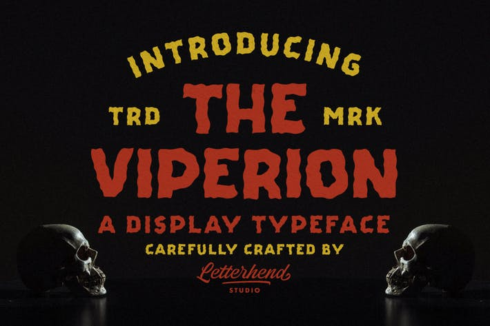 Thumbnail for The Viperion - Display Typeface