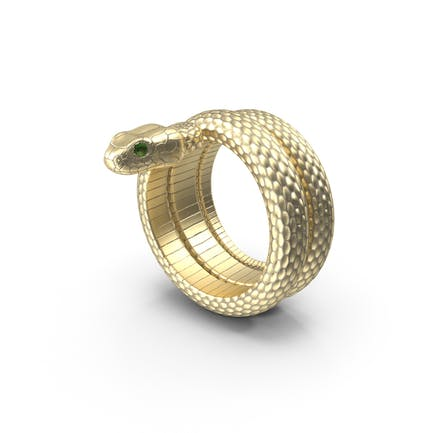 Schlangenring Gold