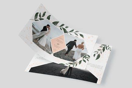 Groom Landscape – Wedding Invitation Template