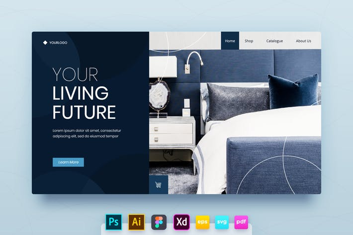 Thumbnail for Landing Page Vol.09 Modern Living