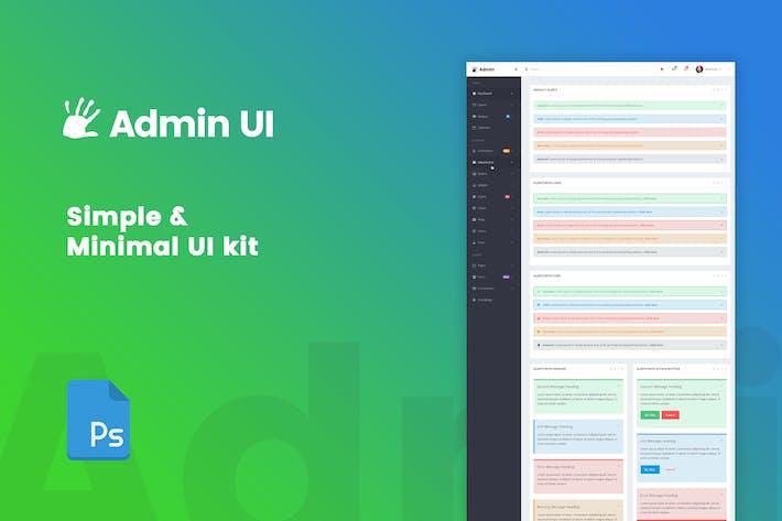 HighFive Admin - мини-набор элементов пользовательского интерфейса