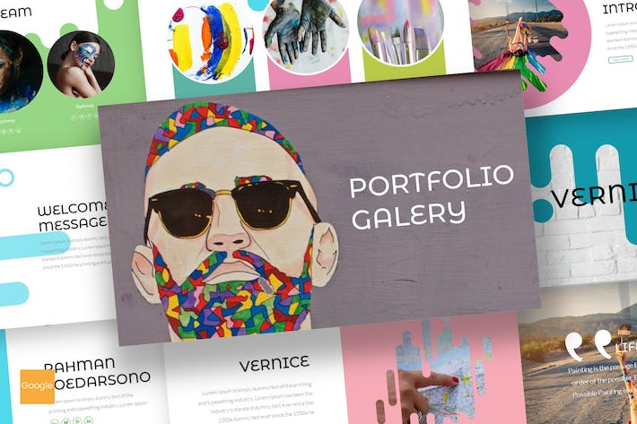 Cover Image For Vernice - Google Slides Template