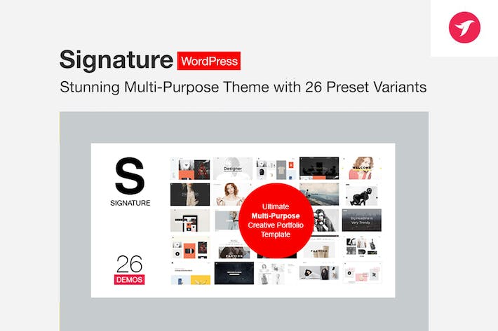 Thumbnail for Signature - Ultimate Multi Purpose WordPress Theme