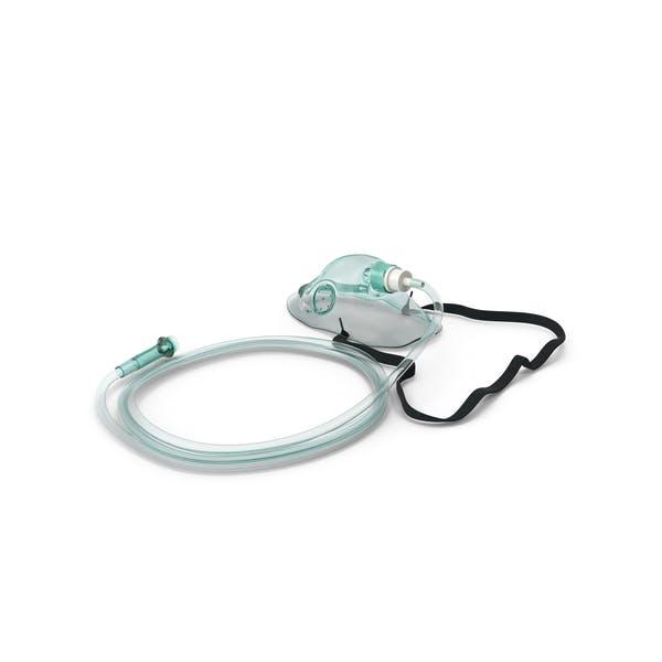 Pädiatrische Sauerstoffmaske mit Tube