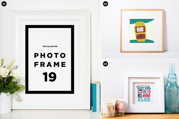 Thumbnail for Photo frame mockup collection