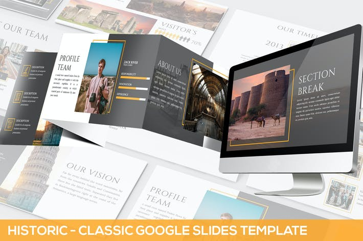 Cover Image For Historic - Google Slides Presentation Template