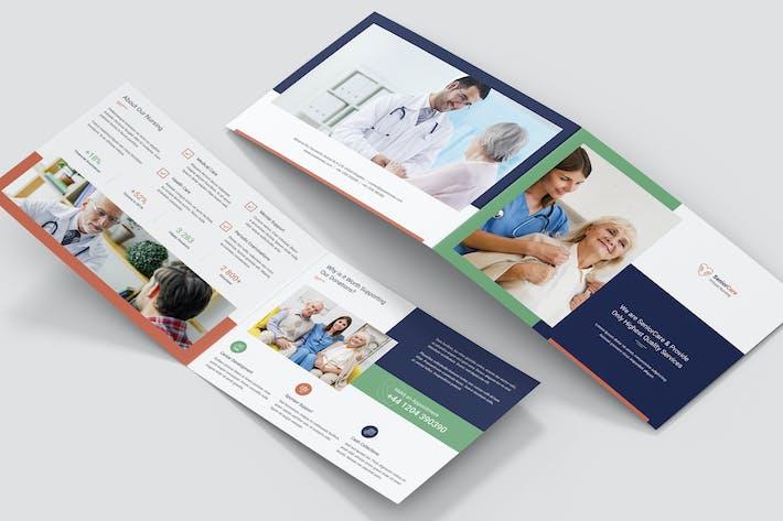 Brochure – Senior Care Bi-Fold A5 Landscape
