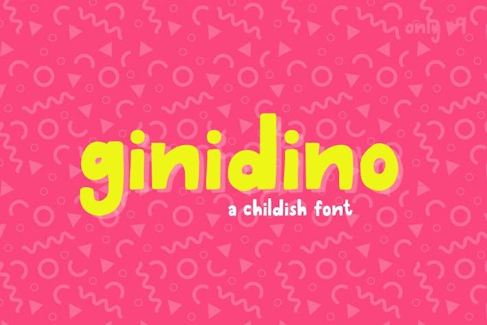Thumbnail for Ginodino Font