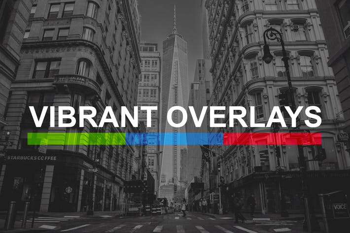 Thumbnail for 200 Vibrant Overlay Presets