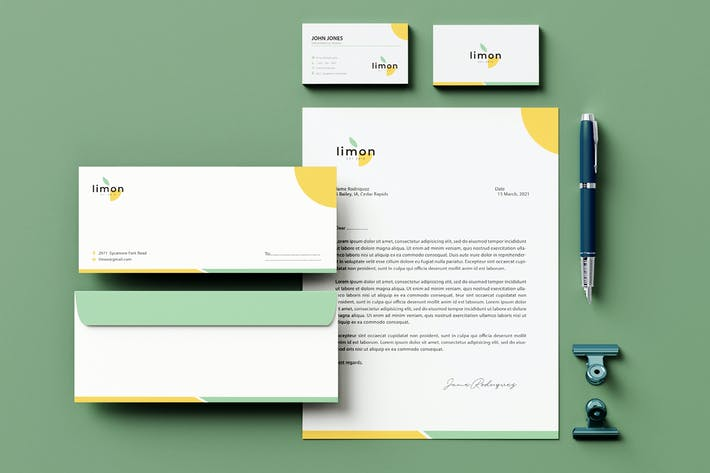 Thumbnail for Nature Branding Identity & Stationery Pack