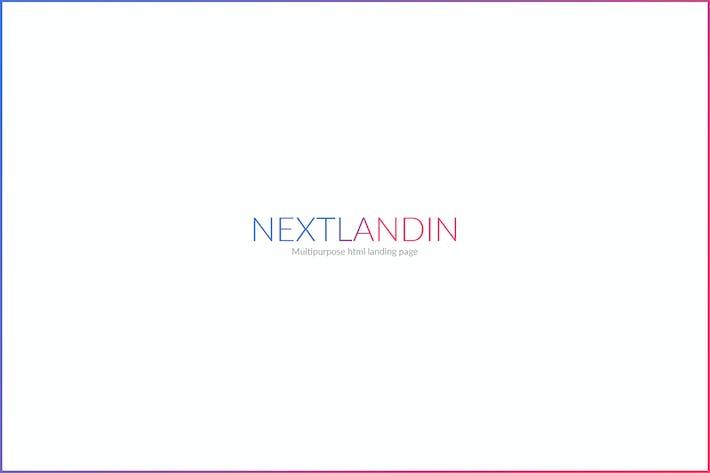 NEXTLANDIN - MULTIPURPOSE LANDING PAGE