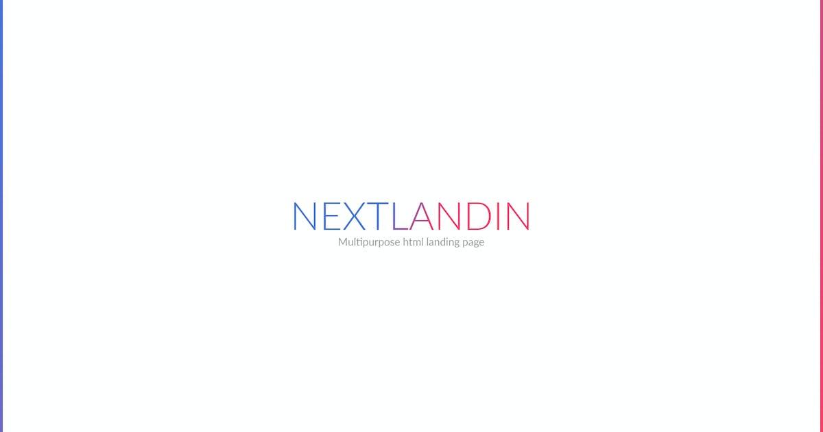 Download NEXTLANDIN - MULTIPURPOSE LANDING PAGE by mutationthemes