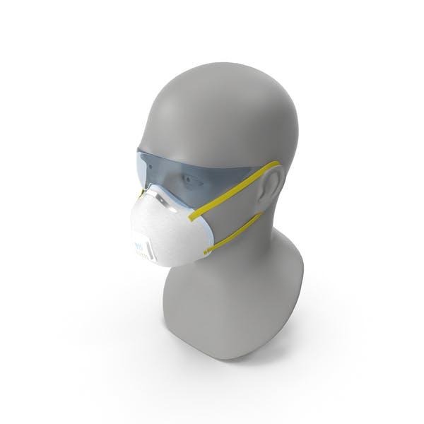 N95-Atemschutzmasken - Gesichtsmasken