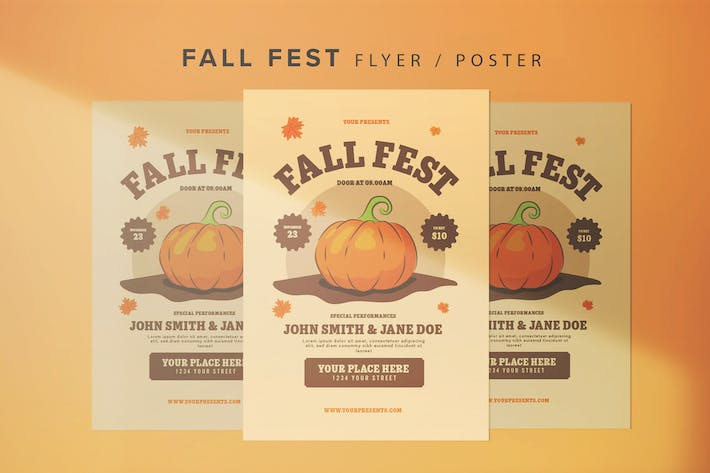 Thumbnail for Fall Fest Flyer