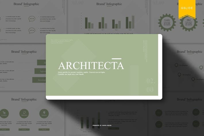 Thumbnail for Architecta | Google PräsentationsVorlage