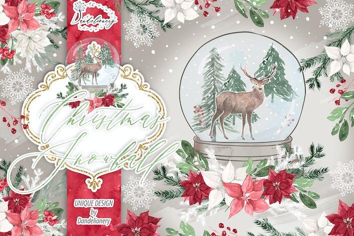 Thumbnail for Christmas Snowball design