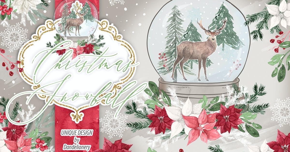 Download Christmas Snowball design by designloverstudio