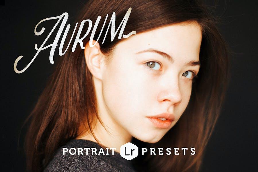 Aurum Portrait Lightroom Presets