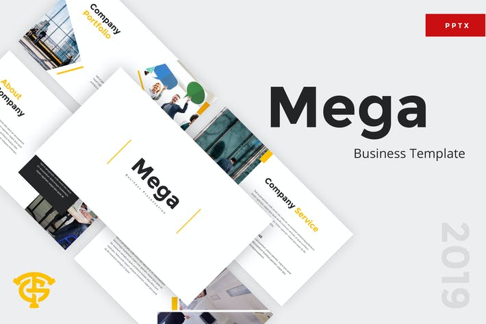 Thumbnail for Mega Business - Powerpoint