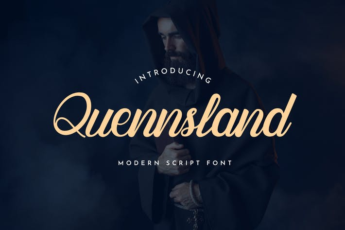 Quennsland Calligraphy Font