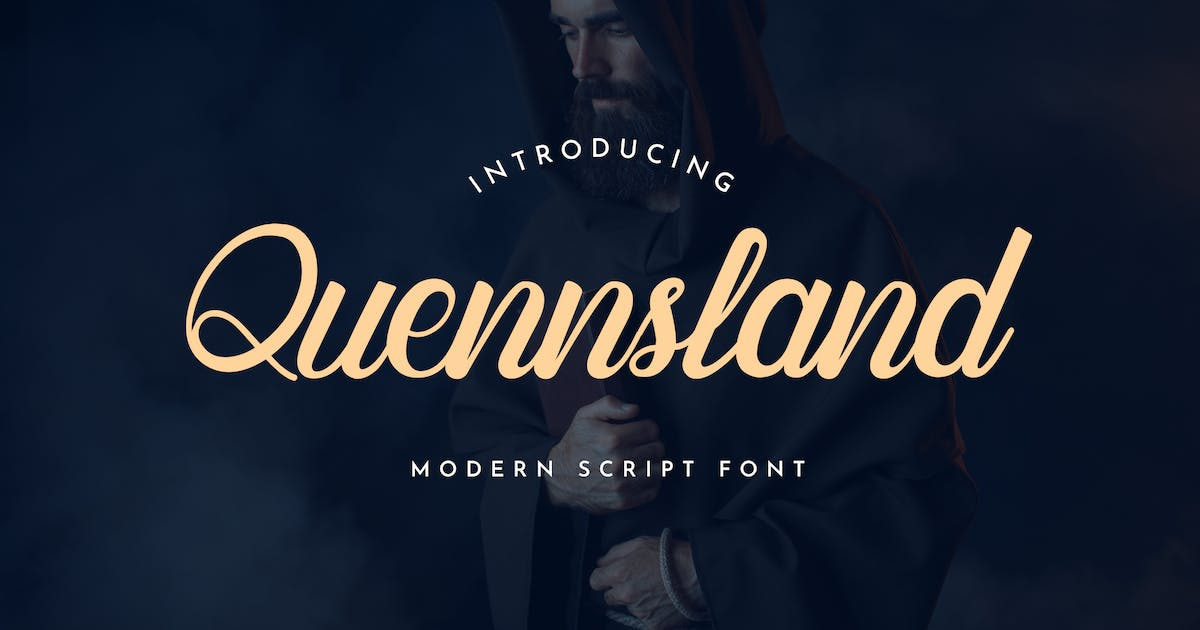 Download Quennsland Calligraphy Font by uicreativenet