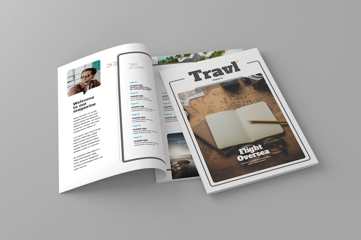 Thumbnail for Magazine Template Vol. 13