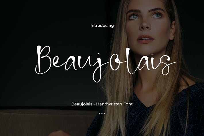 Thumbnail for Beaujolais - Handwritten Font