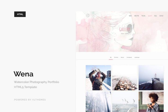 Thumbnail for Wena - Watercolor Photography Portfolio