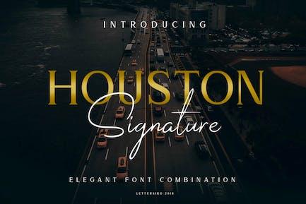Houston Business Font