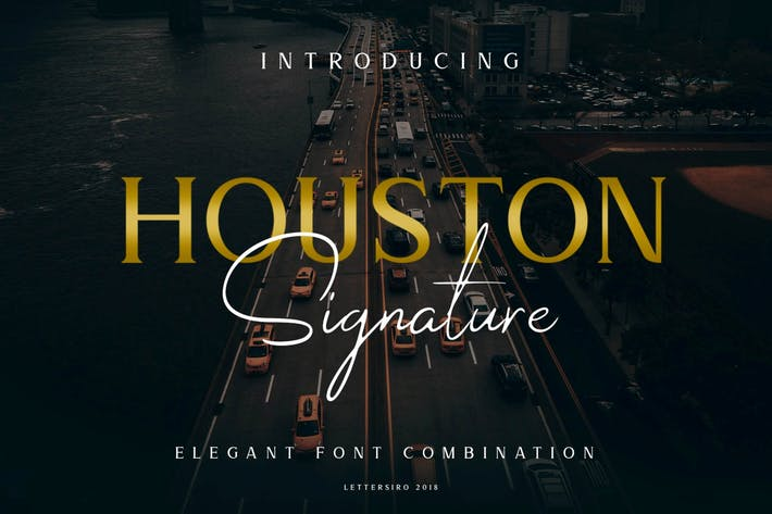 Thumbnail for Houston Business Font