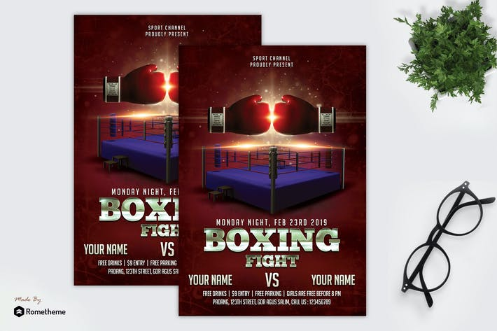 Thumbnail for Boxing Fight - Flyer vol.02 MR